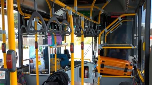 パース バス スーツケース 380