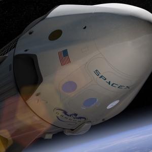 スペースX ドラゴン 宇宙船 (c)SpaceX