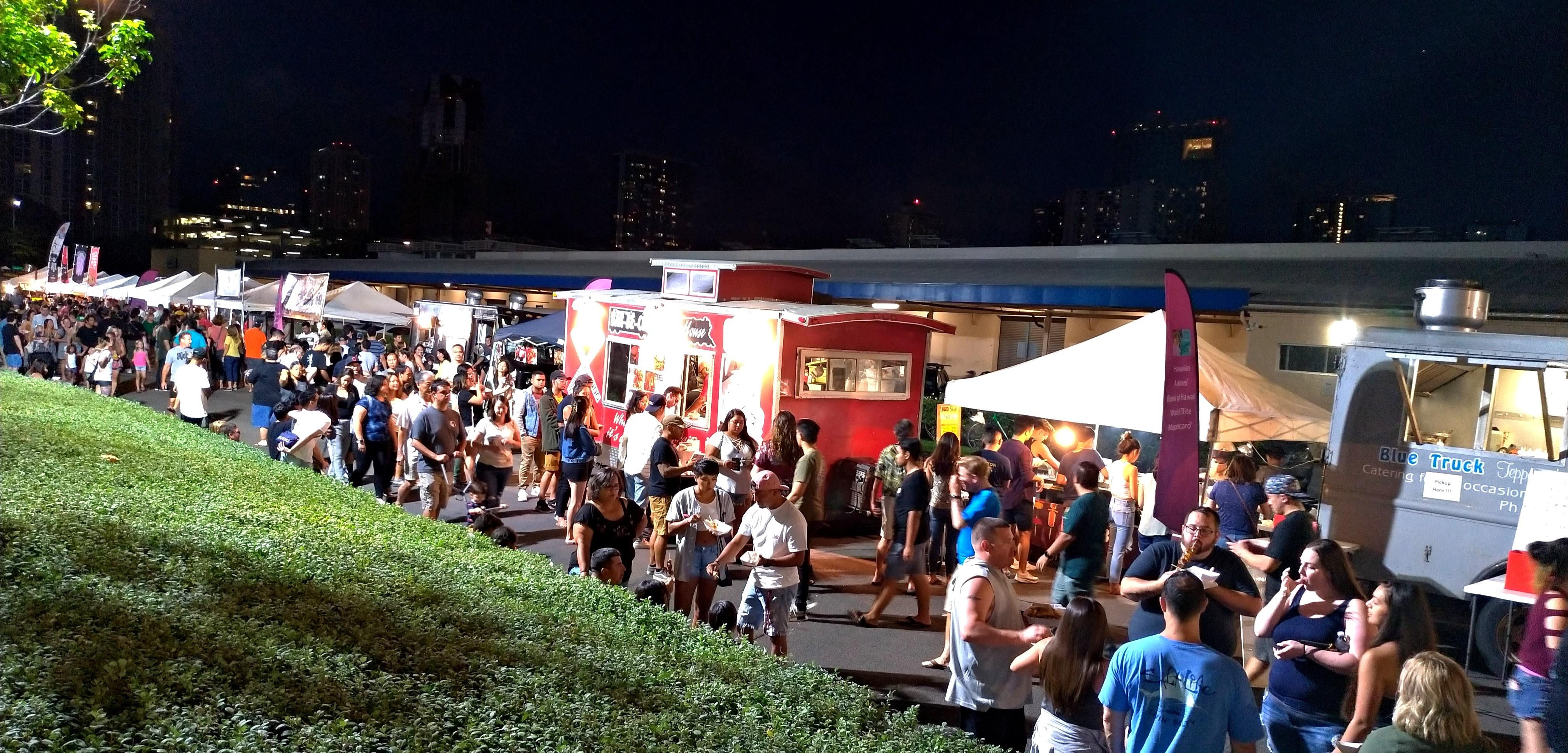 Honolulu Night Market Kakaako SALT