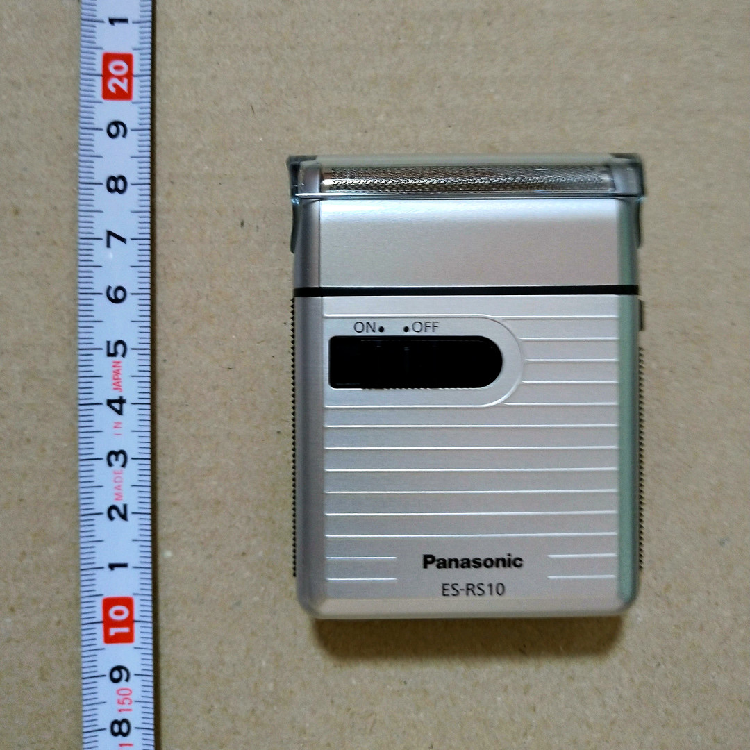 パナソニック メンズシェーバー es-rs10 とても小さいサイズ