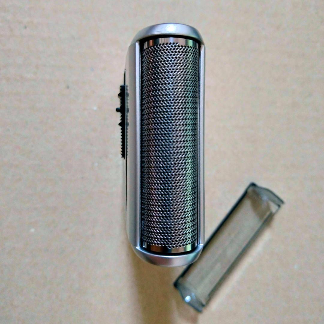 パナソニック メンズシェーバー es-rs10 シンプルなステンレス1枚刃